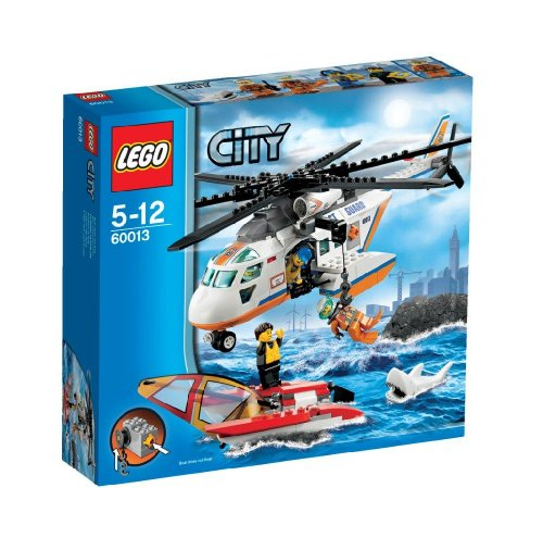 レゴ シティ 【送料無料】LEGO CITY Coast Guard Patrol Helicopter with Minifigures & Catamaran | 60013レゴ シティ