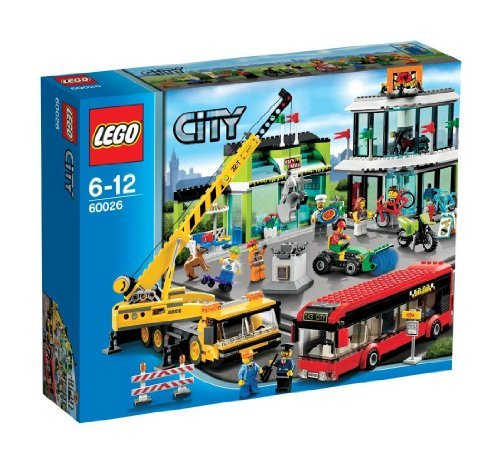 レゴ シティ LEGO City Shopping Square 60026 (japan import)レゴ シティ