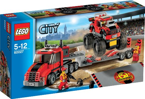 レゴ シティ LEGO City Monster Truck Transporter Set #60027レゴ シティ