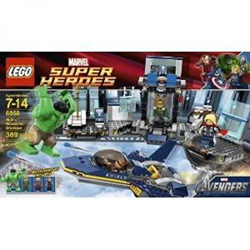 レゴ スーパーヒーローズ マーベル DCコミックス スーパーヒーローガールズ 【送料無料】Toy / Game Cool Lego Hulk Helicarrier Breakout 6868 - 4 Flick Missiles and Opening Cockpitレゴ スーパーヒーローズ マーベル DCコミックス スーパーヒーローガールズ