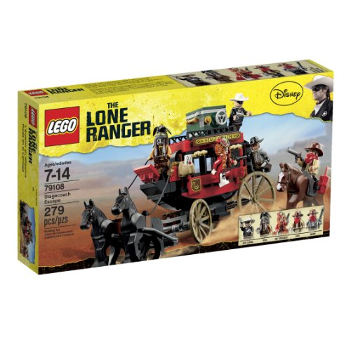 レゴ 【送料無料】LEGO The Lone Ranger Stagecoach Escape (79108)レゴ