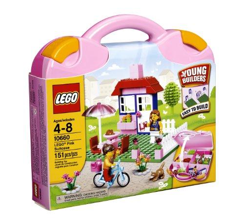 レゴ LEGO Bricks & More Pink Suitcase 10660レゴ