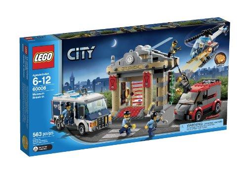 レゴ シティ LEGO City Police Museum Break-in 60008レゴ シティ