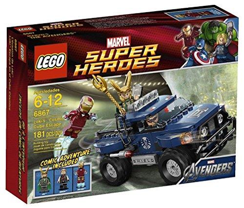 レゴ スーパーヒーローズ And マーベル 6867レゴ DCコミックス スーパーヒーローガールズ Includes 3 マーベル Minifigures: Iron Man, Loki And Hawkeye - LEGO Loki's Cosmic Cube Escape 6867レゴ スーパーヒーローズ マーベル DCコミックス スーパーヒーローガールズ, カカミガハラシ:171f9cc4 --- publishingfarm.com