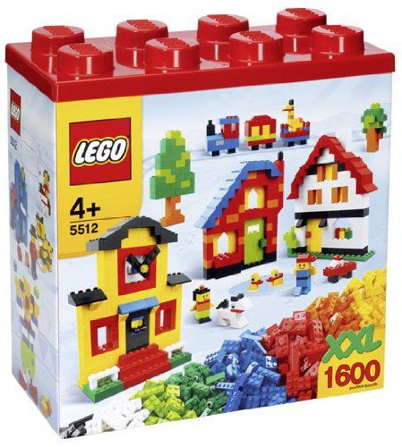 レゴ 【送料無料】LEGO XXL 1,600 Piece Multi Colored Building Block Set Style 5512レゴ