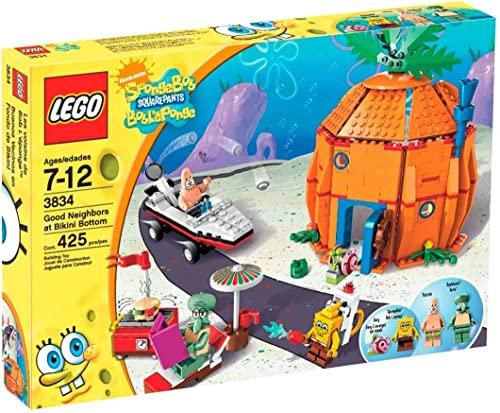 無料ラッピングでプレゼントや贈り物にも 逆輸入並行輸入送料込 レゴ 送料無料 LEGO Spongebob 新色追加して再販 Bikini Bottomレゴ 3834 営業 Good at Neighbours