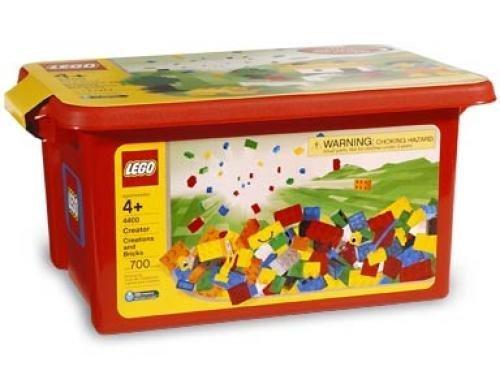 レゴ Lego 4400 Creators Brick set Tub Rareレゴ
