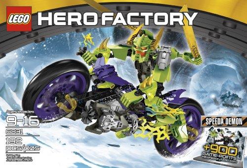 レゴ LEGO Hero Factory 6231 Speeda Demonレゴ
