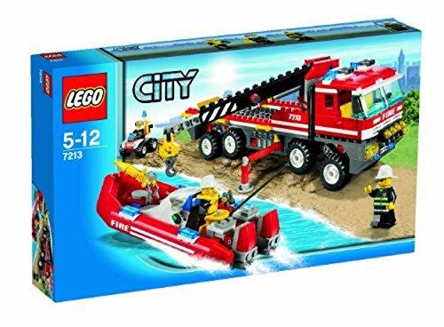 レゴ シティ LEGO City Set #7213 OffRoad Fire Truck & Fireboatレゴ シティ