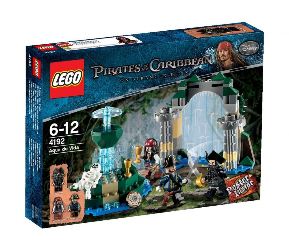 レゴ Disney Lego Pirates of The Caribbean 4192: Fountain of Youthレゴ