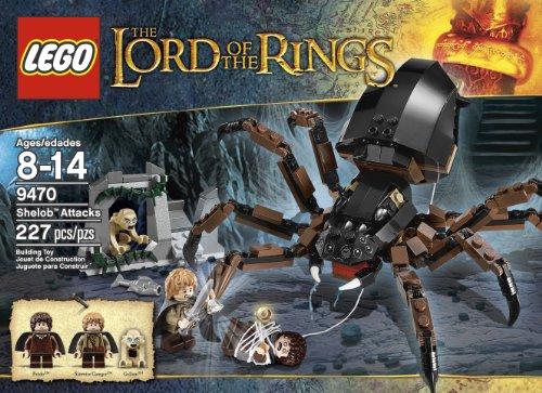 レゴ LEGO The Lord of the Rings Hobbit Shelob Attacks (9470)レゴ