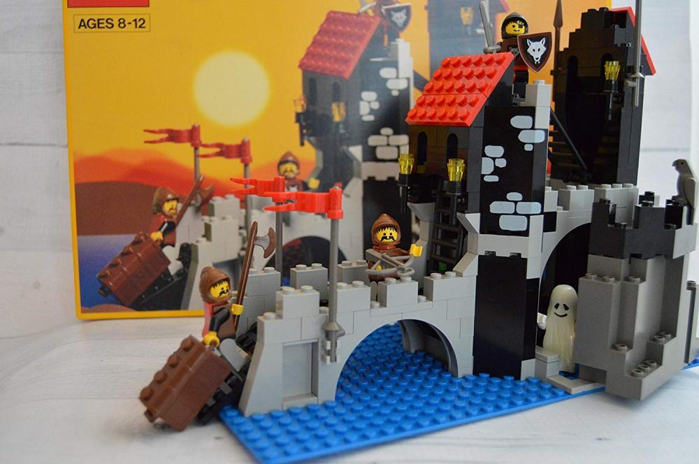 レゴ Lego Systems Wolfpack Tower #6075 Vintage 1992レゴ