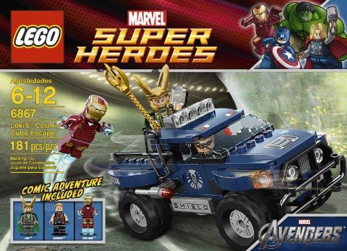 レゴ スーパーヒーローズ マーベル DCコミックス スーパーヒーローガールズ LEGO Loki's Cosmic Cube Escape 6867レゴ スーパーヒーローズ マーベル DCコミックス スーパーヒーローガールズ