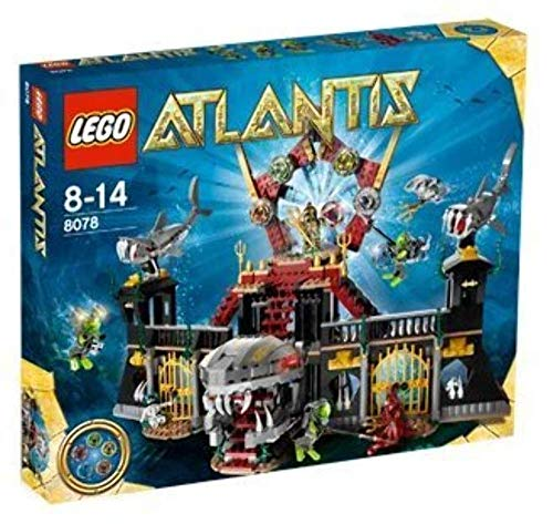 レゴ Lego Atlantis Portal Of Atlantis Style# 8078レゴ