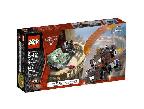【在庫あり/即出荷可】 レゴ【送料無料【送料無料】LEGO】LEGO Cars Escape Agent Mater's Agent Escape 9483レゴ, 絶対一番安い:69b62bea --- zhungdratshang.org