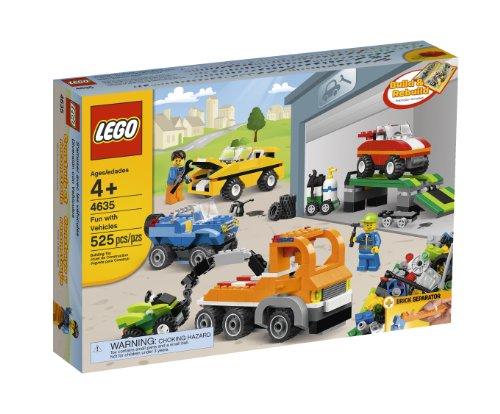 レゴ LEGO Bricks and More Fun with Vehicles 4635レゴ