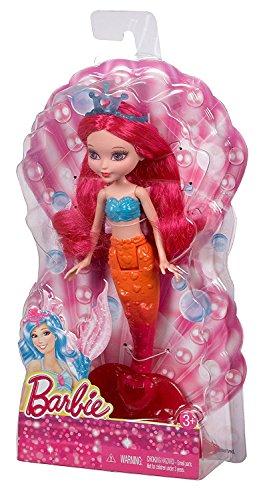 バービー バービー人形 ファンタジー 人魚 マーメイド CGM78 【送料無料】Barbie Fairytale Small Doll Mermaid, Pinkバービー バービー人形 ファンタジー 人魚 マーメイド CGM78