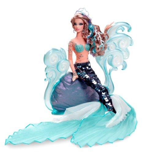 バービー バービー人形 ファンタジー 人魚 マーメイド W3427 Barbie Collector Exclusive - The Mermaid Barbie Dollバービー バービー人形 ファンタジー 人魚 マーメイド W3427