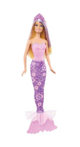バービー バービー人形 ファンタジー 人魚 マーメイド X9455 【送料無料】Barbie Fairytale Magic Blonde Mermaid Doll, Purpleバービー バービー人形 ファンタジー 人魚 マーメイド X9455