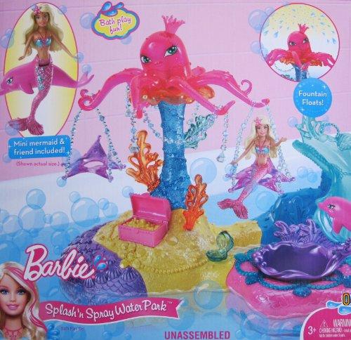 ずっと気になってた バービー バービー人形 バービー人形 ファンタジー マーメイド 人魚 人魚 マーメイド Barbie SPLASH 'N SPRAY WATER PARK Bath Playset w Mini Mermaid, Dolphin Friend & MORE! (2010)バービー バービー人形 ファンタジー 人魚 マーメイド, サエグサファクトリー:ae9be417 --- canoncity.azurewebsites.net