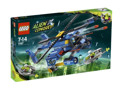 レゴ LEGO: Alien Conquest: Jet-Copter Encounterレゴ