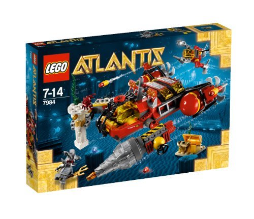 レゴ LEGO?? Atlantis Deep Sea Raider - 7984レゴ