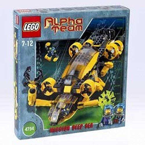レゴ LEGO Alpha Team: Mission Deep Sea 4794 AT Command Patrolレゴ
