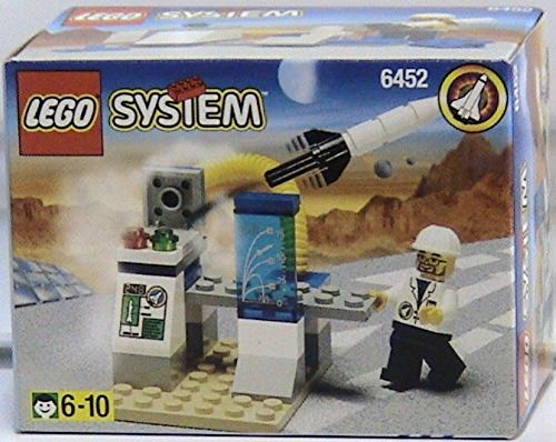 レゴ 【送料無料】LEGO Space Port 6452 Mini Rocket Launcherレゴ