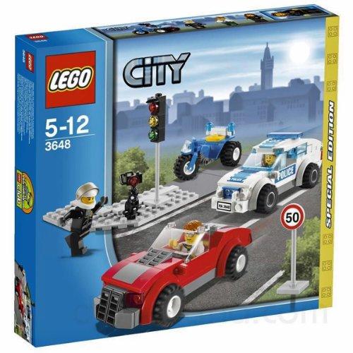 レゴ シティ LEGO 3648 Police Chase Special Edition 2011 City Series 173pc Set (Includes 3 Minifigures)レゴ シティ