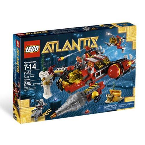 レゴ LEGO Atlantis Deep Sea Raider 7984 Yレゴ