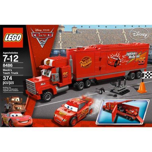 レゴ LEGO Cars Mack's Team Truck 8486レゴ