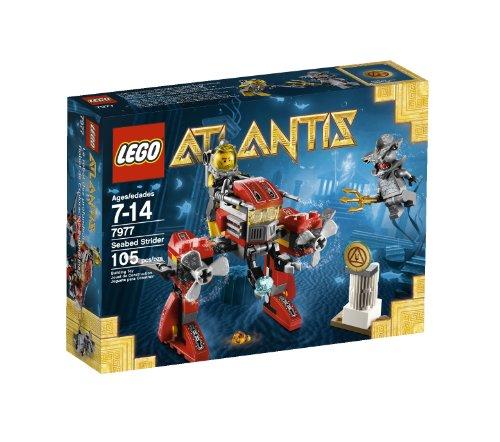 レゴ 【送料無料】LEGO Atlantis Seabed Strider 7977レゴ