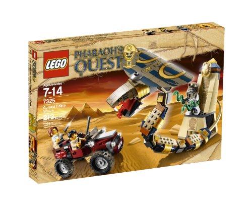 無料ラッピングでプレゼントや贈り物にも 逆輸入並行輸入送料込 人気激安 希望者のみラッピング無料 レゴ 送料無料 LEGO Pharaoh's Cursed Cobra 7325レゴ Quest Statue