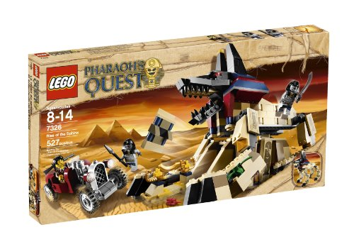 レゴ LEGO Pharaoh's Quest Rise of the Sphinx 7326レゴ