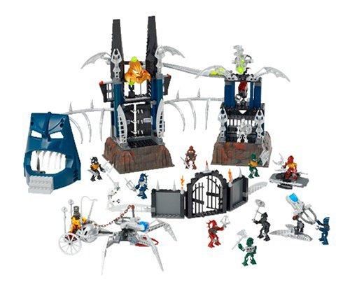 レゴ バイオニクル Lego Bionicle 8894 - Piraka Stronghold with 6 mini Toa Inika and 6 mini Piraka figuresレゴ バイオニクル