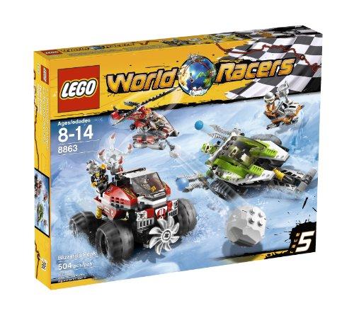 レゴ LEGO World Racers Blizzard's Peak 8863レゴ
