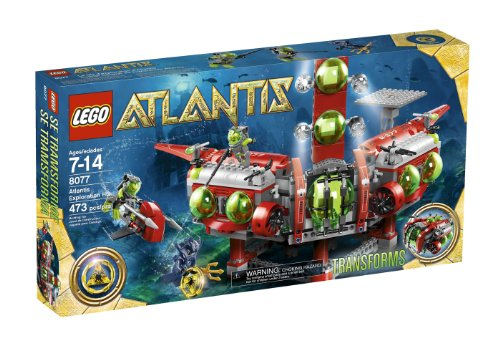 レゴ LEGO Atlantis Exploration HQ 8077レゴ