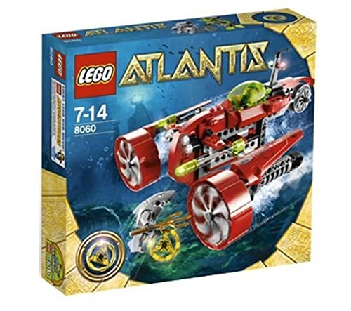 レゴ LEGO Atlantis Typhoon Turbo Sub Set 8060レゴ
