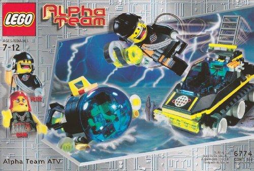 レゴ LEGO Alpha Team 6774 Alpha Team ATVレゴ