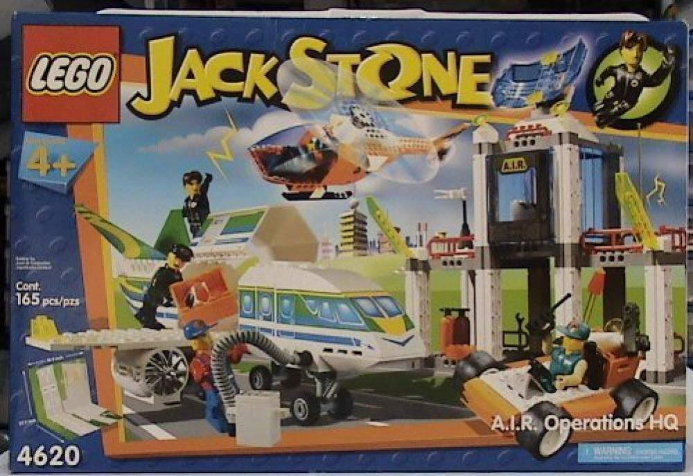 レゴ LEGO Jack Stone 4620 A.I.R. Operations HQレゴ