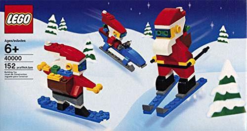 レゴ 【送料無料】LEGO Christmas Cool Santas Holiday Setレゴ