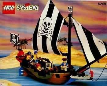 レゴ 【送料無料】Lego #6268 Renegade Runner - Pirate Shipレゴ