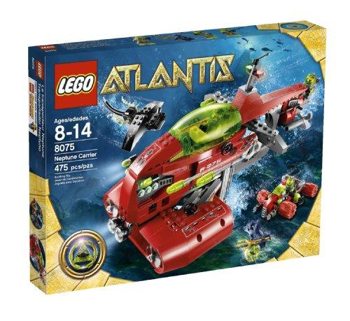 レゴ LEGO Atlantis Neptune Carrier (8075)レゴ