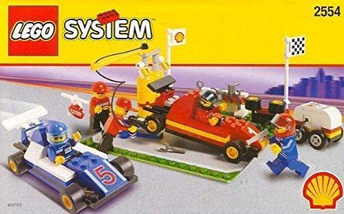 レゴ Lego Lego レゴ SHELL Promotional Set: PIT STOP STOP Set #2554レゴ, タタス ファミリーモール:1b7438bd --- m2cweb.com
