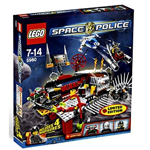 レゴ LEGO Space Police Exclusive Limited Edition Set #5980 Squidman's Pitstopレゴ