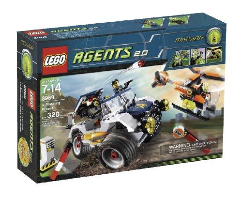 レゴ LEGO Agents 4-Wheeling Pursuit (8969)レゴ