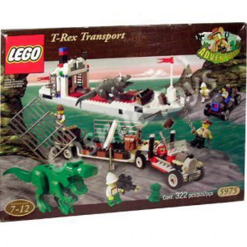 レゴ Lego Adventurers T-Rex Transport 5975レゴ