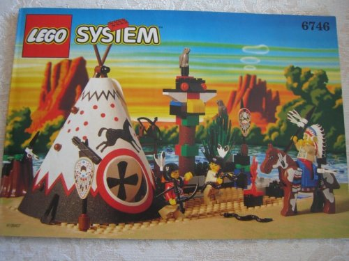 レゴ Lego Wild West Chief's Tepee (Western set 6746)レゴ