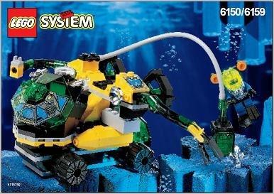 レゴ Lego Aquazone Crystal Detector 6150レゴ