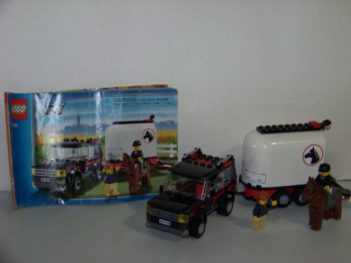 レゴ シティ Lego City Limited Edition Set #7635 4WD With Horse Trailerレゴ シティ